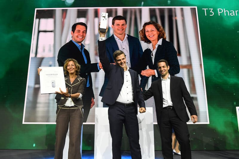 T3 Pharma wins Swiss Economic Award