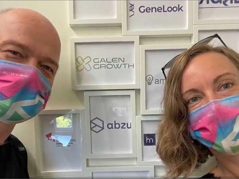 Danish AI company Abzu settling in the Basel Area - at Novartis Campus