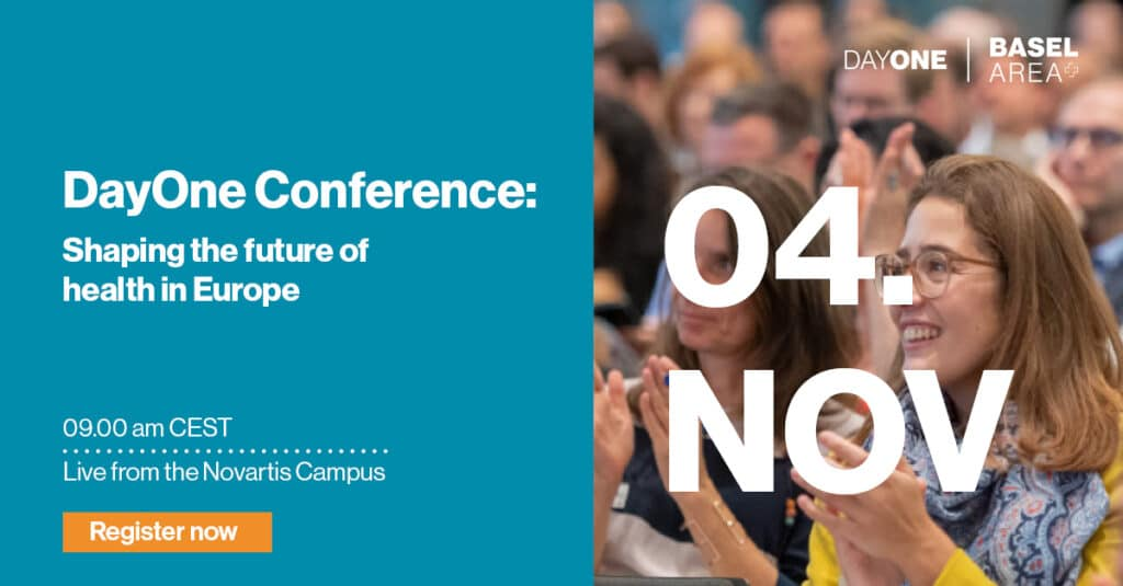 DayOne Conference 2021 - shaping the future of health in europe